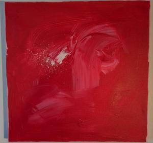 010, Die Quelle Leinwand, Acryl     40 x 40