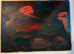 011, Triagon Leinwand, Acryl     30 x 40